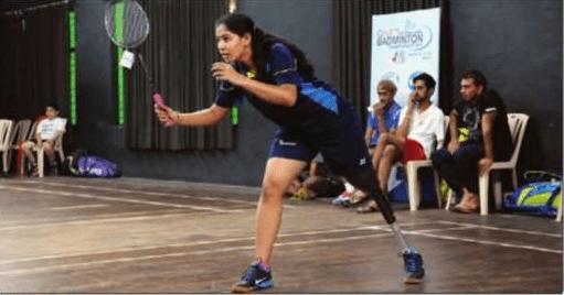 Manasi Joshi Para Badminton