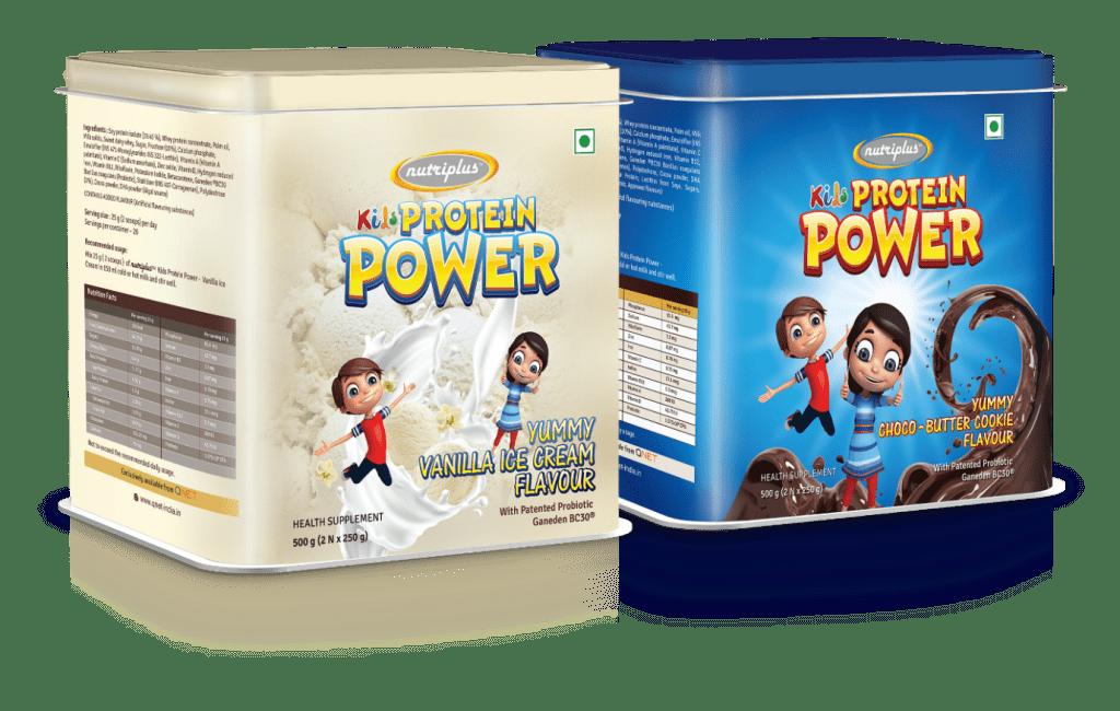 Nutriplus Kids Protein Power