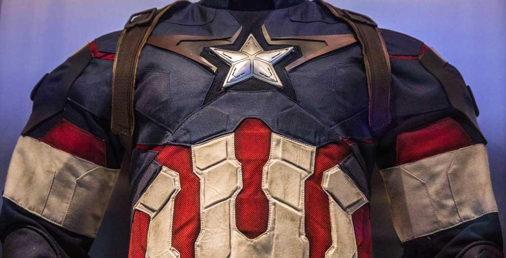 Avengers Endgame Captain America's suit