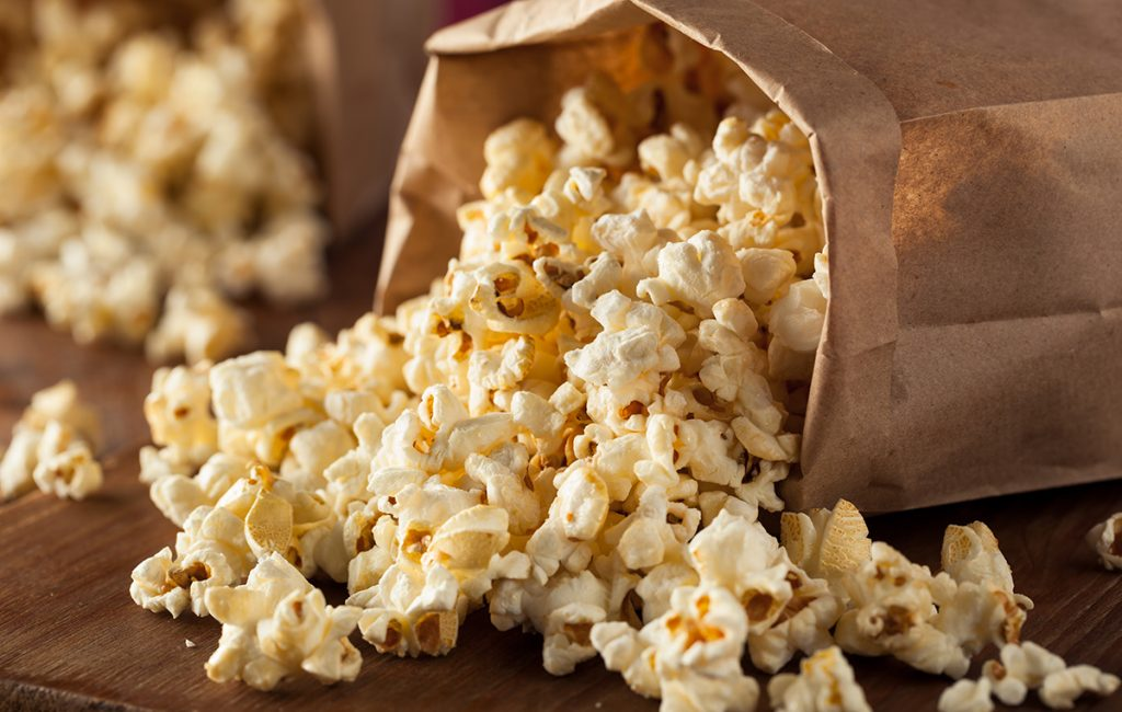 High-fibre foods: Popcorn