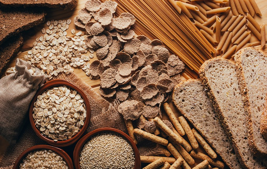 High-Fibre foods: Whole grain food items