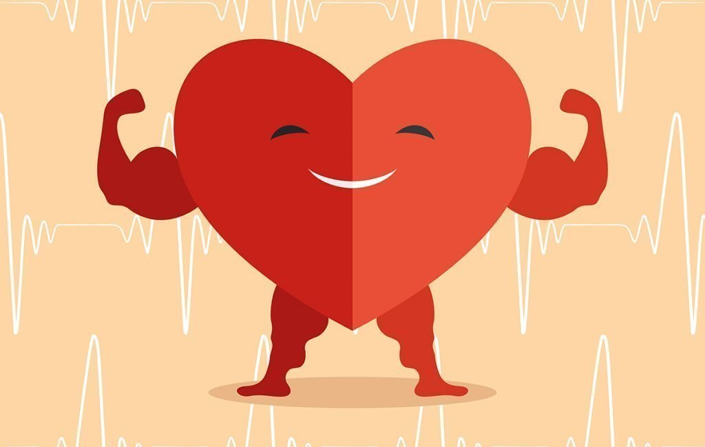 a strong and happy heart