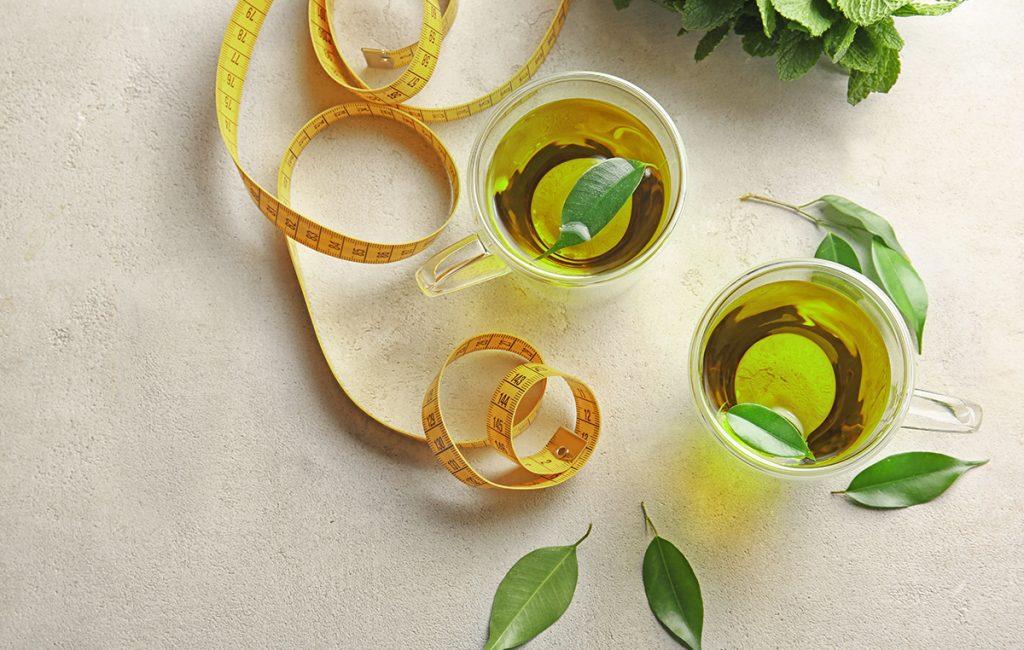 green tea helps reduce weight