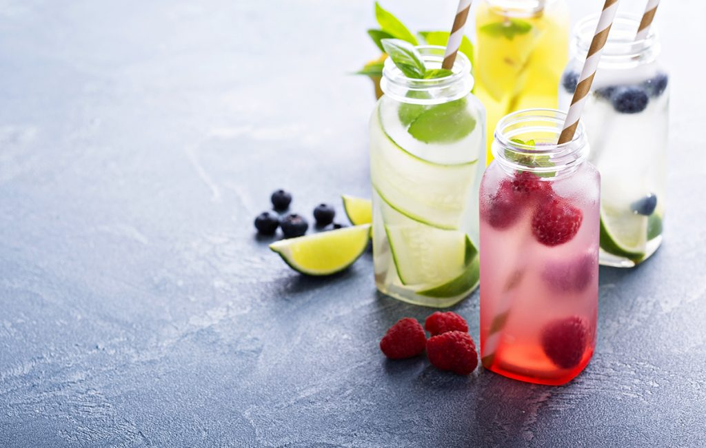 Drinking Water: Variety of Detox Water