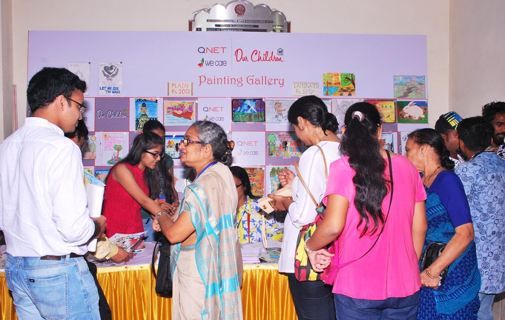 QNET India and Our Children Trust joined hands to celebrate Children's Meet