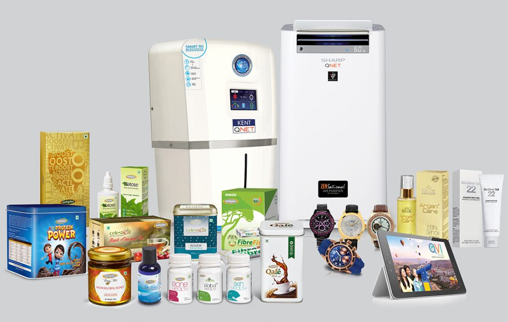 QNET India offers a wide range of lifestyle and wellness products