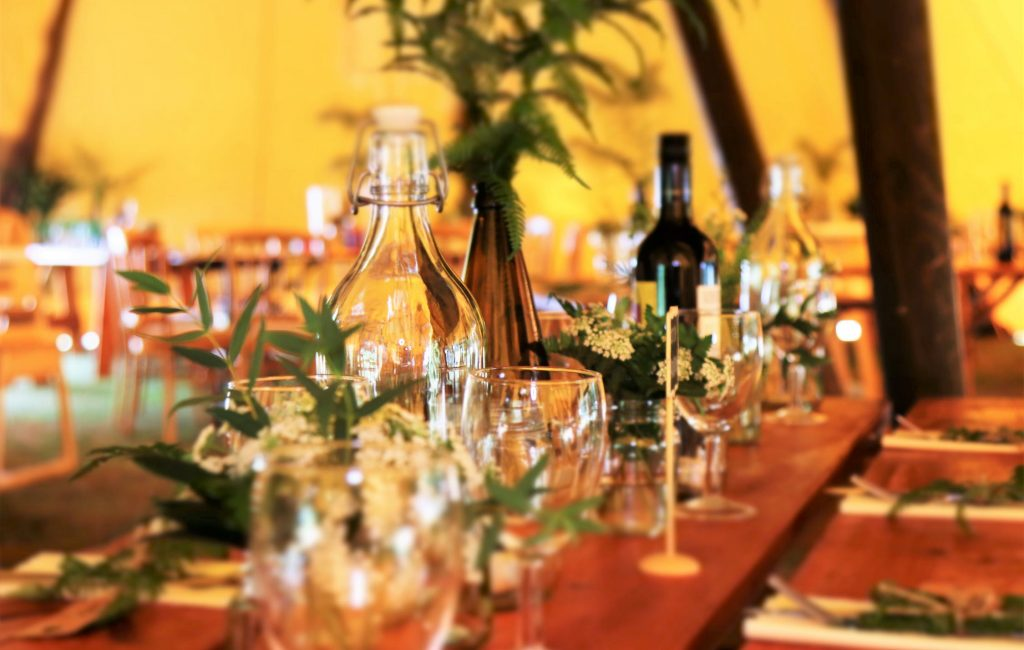 Chairos watches: a beautifully arranged table at an expensive restaurant