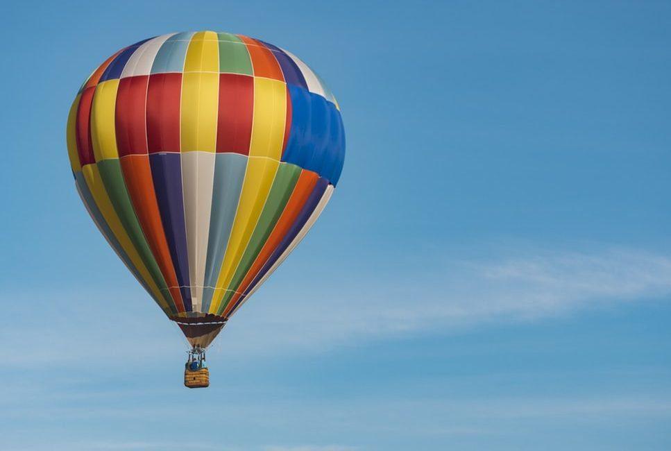 Chairos watches: a colorful hot air balloon ride
