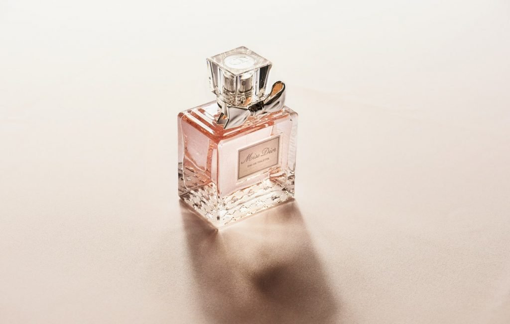 Chairos watches: A pretty pink bottle of perfume