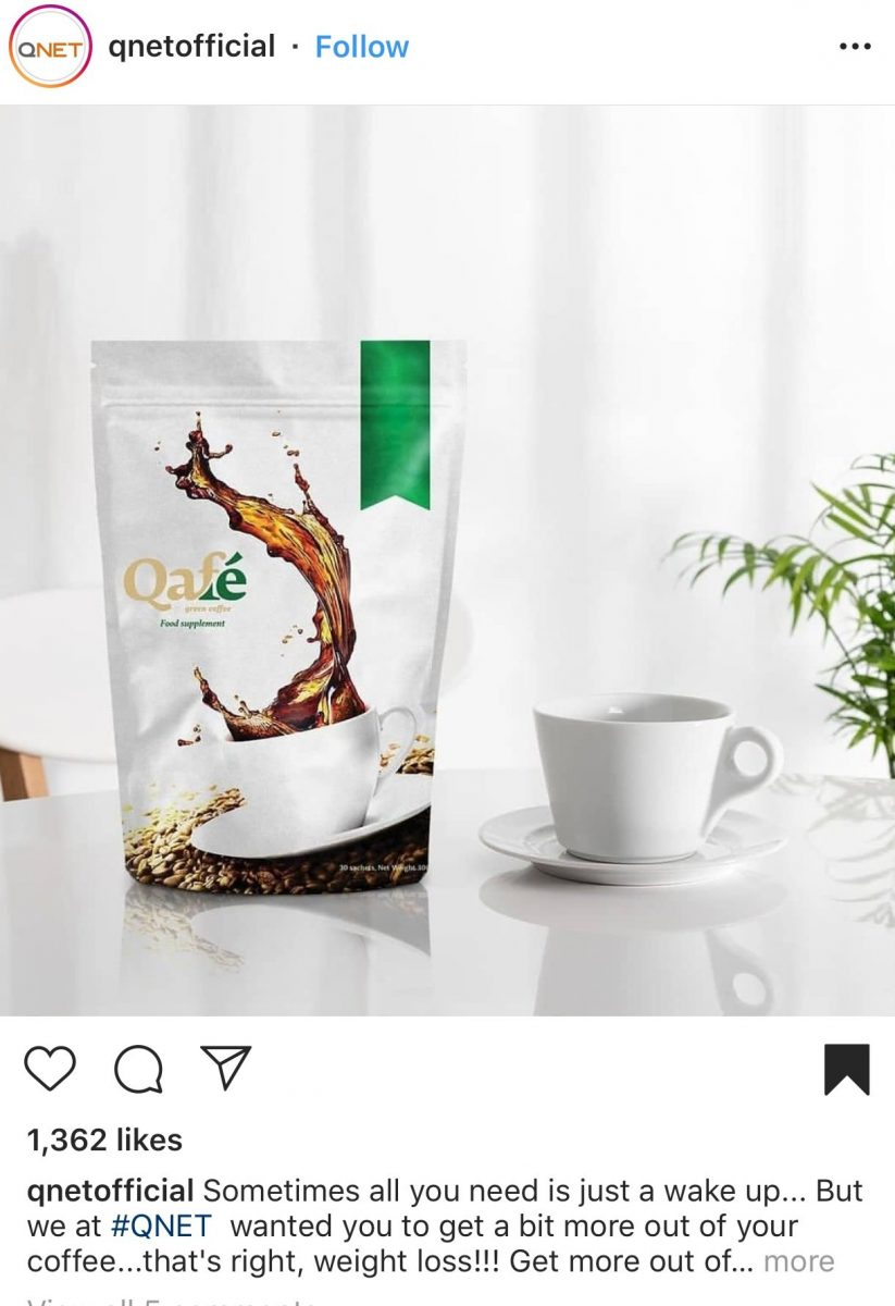 World Photography Day: A cup of Nutriplus Qafé in natural light
