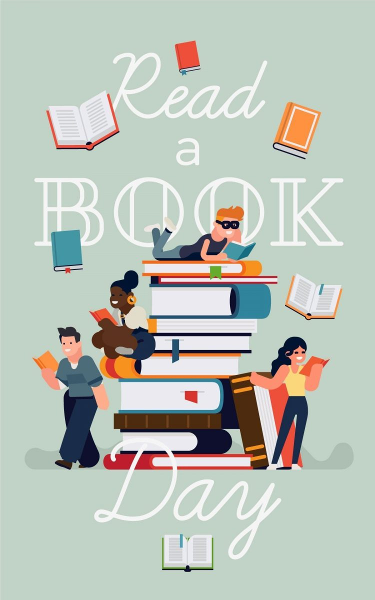 Read a book day: Read a book day concept image