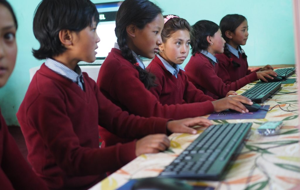 RYTHM Foundation: School students in Ladakh benefitting from internet access