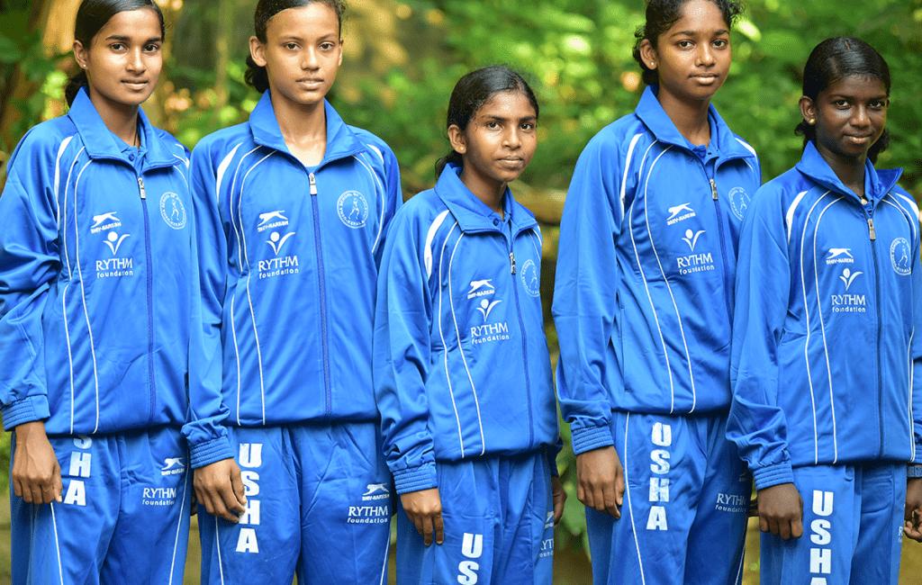 RYTHM Foundation: Budding athletes at the Usha School of Athletics