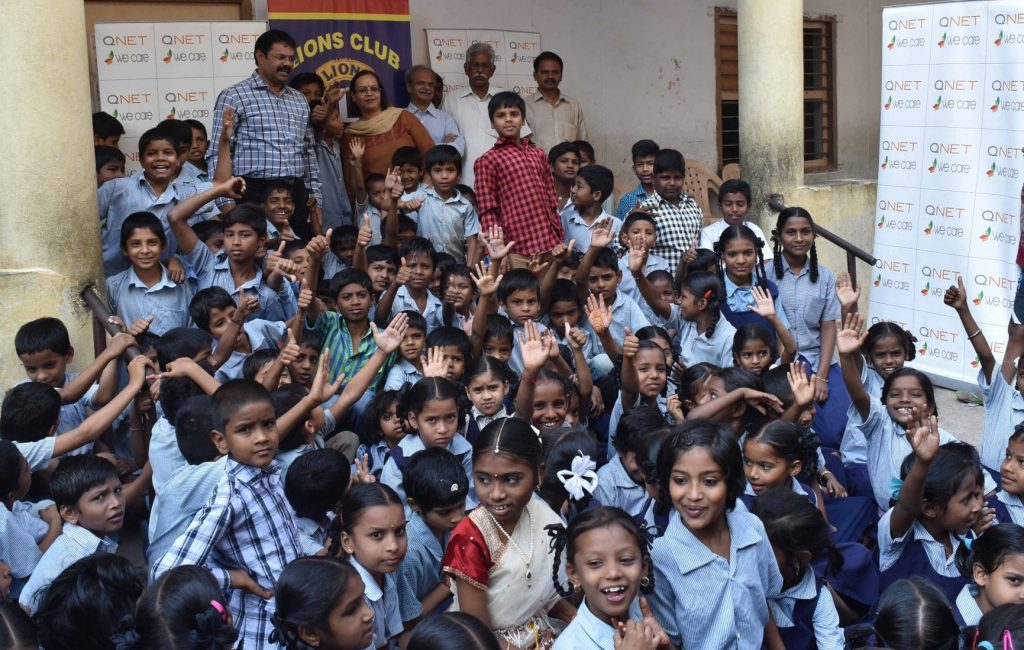 qnet-india-water-for-government-school-hyderabad