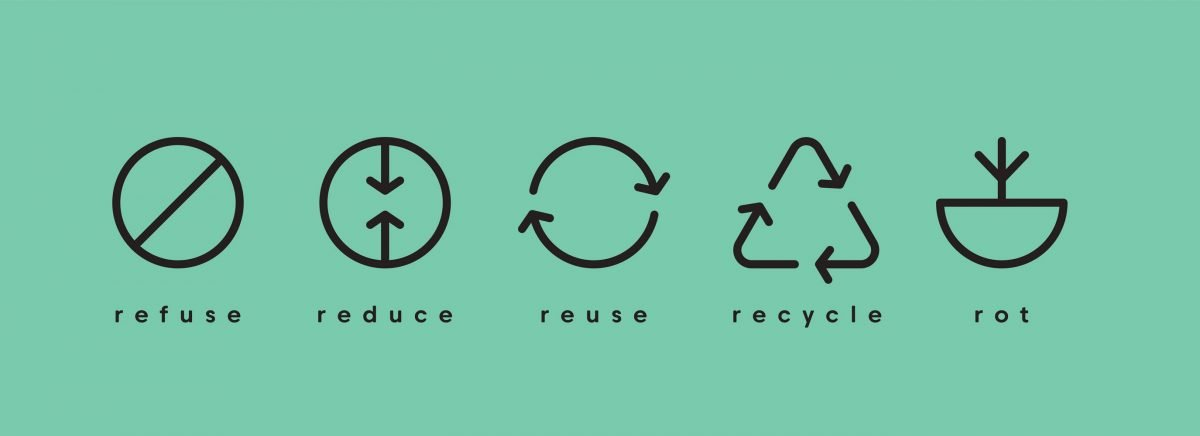 5 rules of zero waste