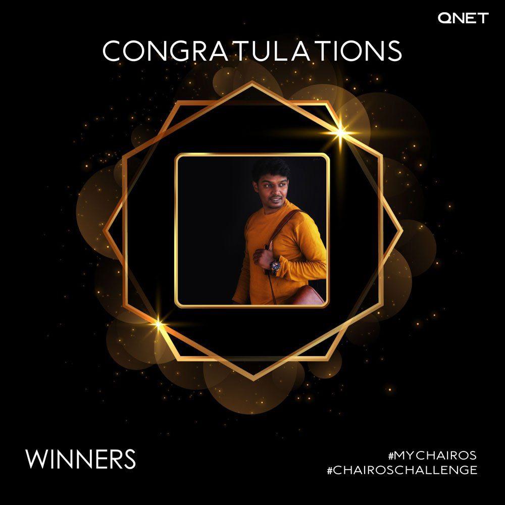 MyChairos Winner 1