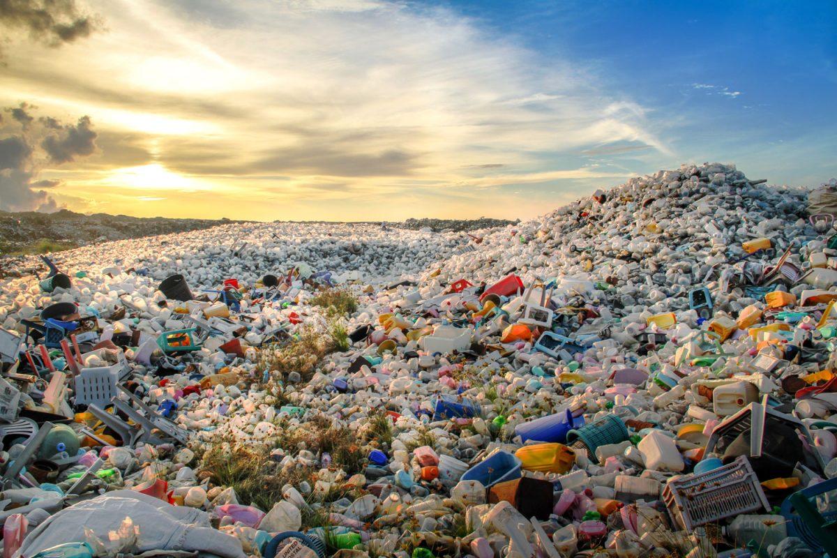 Plastic heap