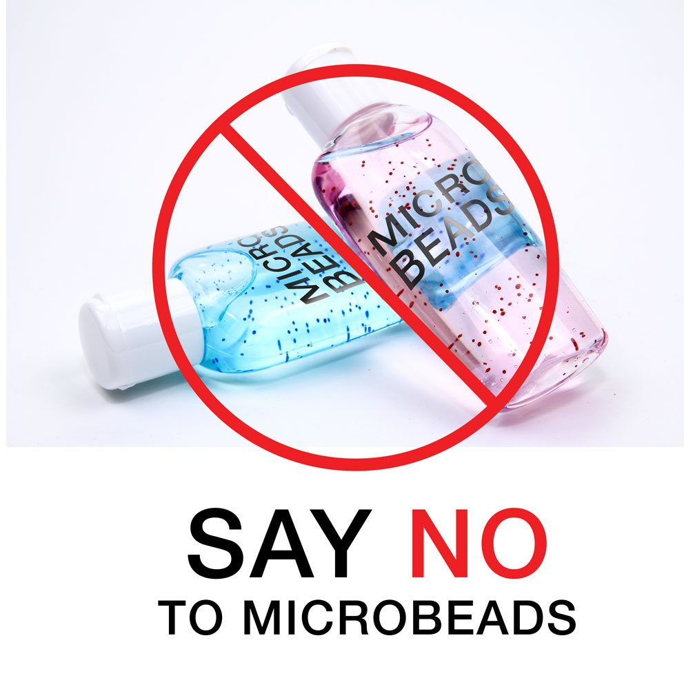 Say no to microbeads