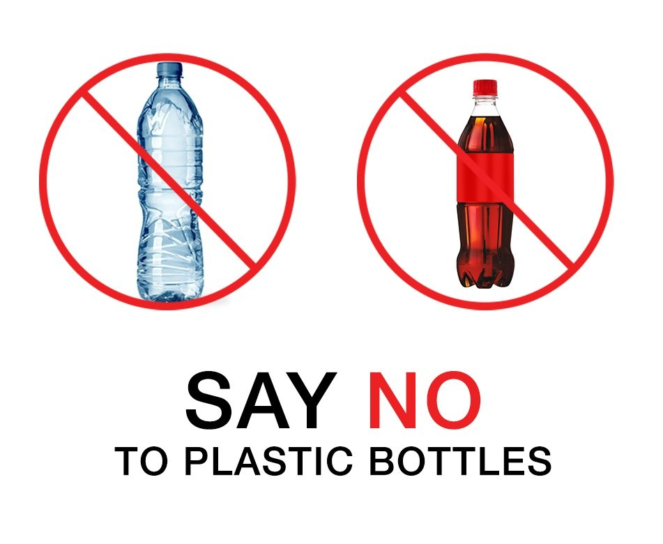 Say no to plastic bottles