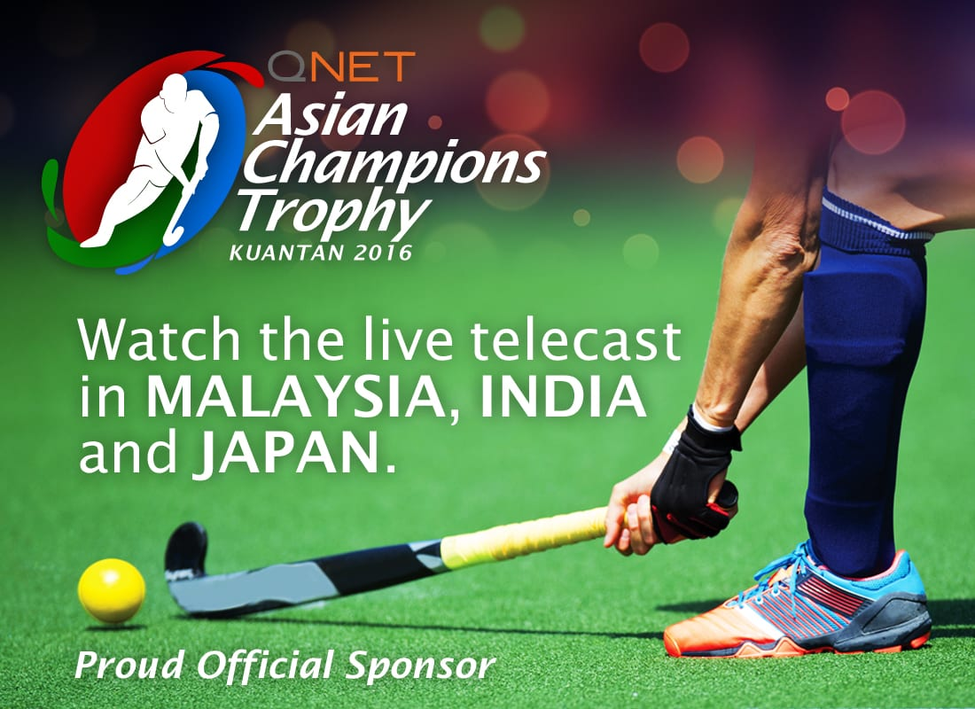 QNET Hockey Championship : Title Sponsor of Asian Champions Trophy