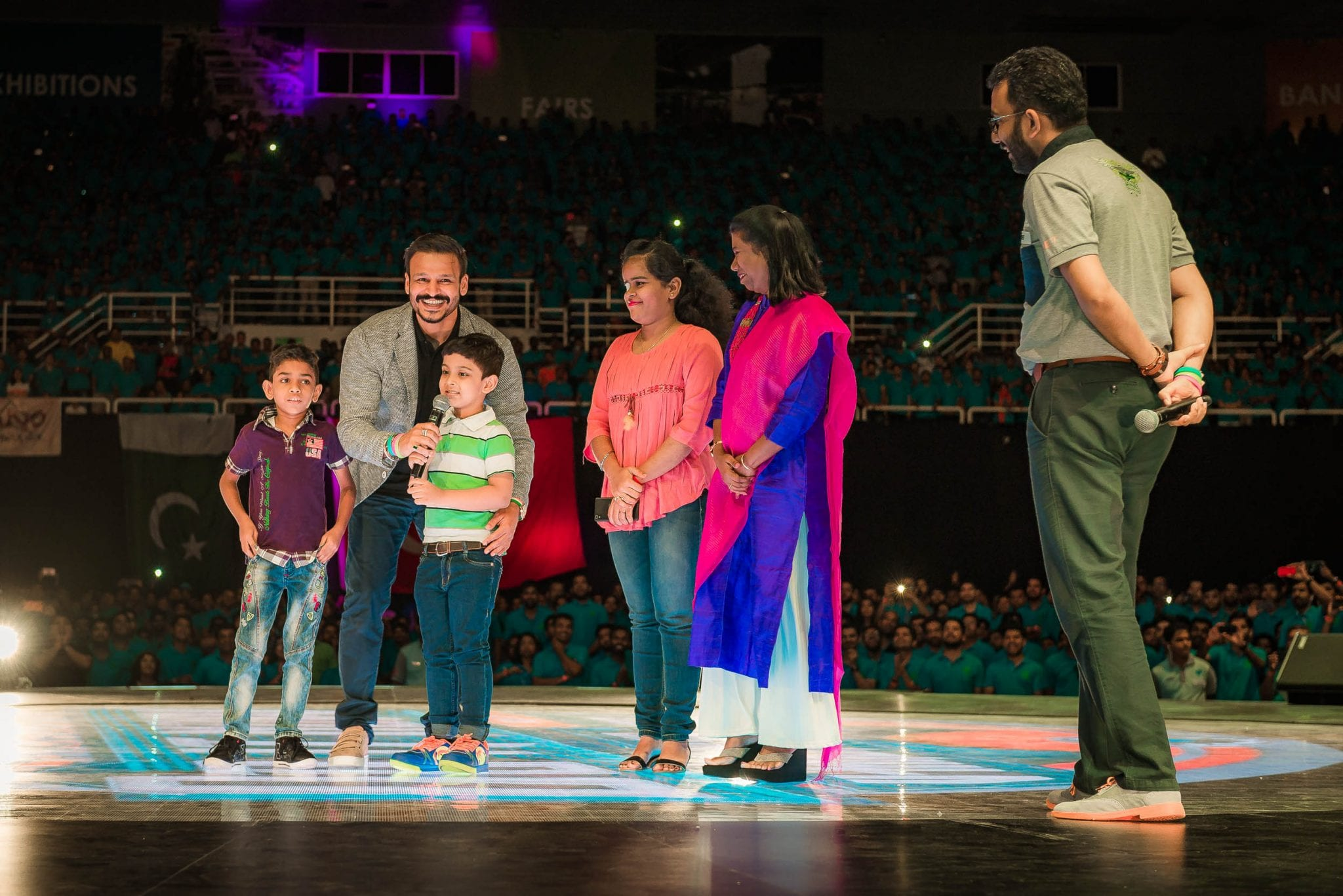 Vivek Oberoi and CPAA : RYTHM in Action at V-Malaysia 2017
