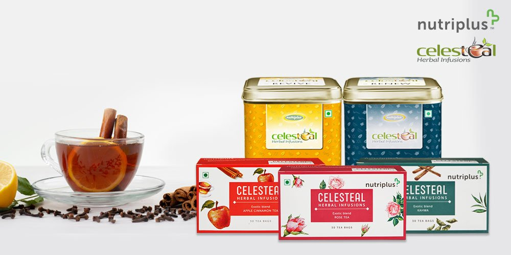 QNET's health and wellness range Nutriplus has the best collection of teas under the name Celesteal.