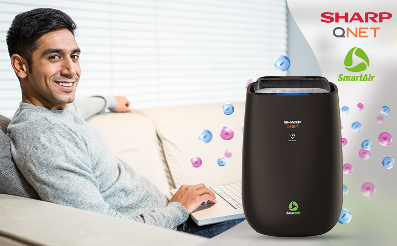 Can SHARP QNET SmartAir Air Purifier Improve the Quality of Work at Home?