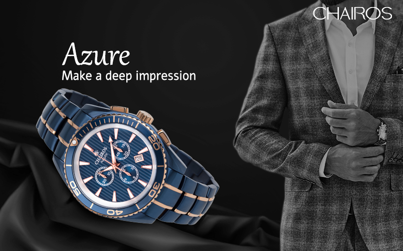 CHAIROS Watch on Focus: CHAIROS Azure by QNET India