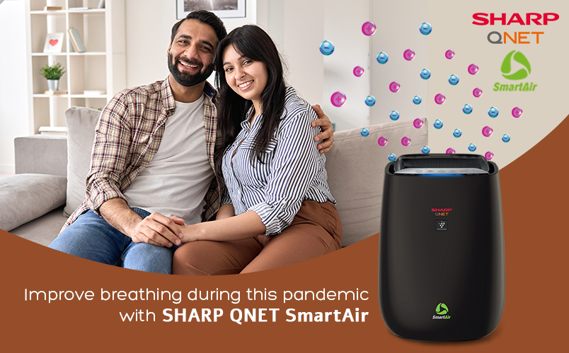 How to Improve Breathing during this Pandemic with SHARP-QNET SmartAir Air Purifier?