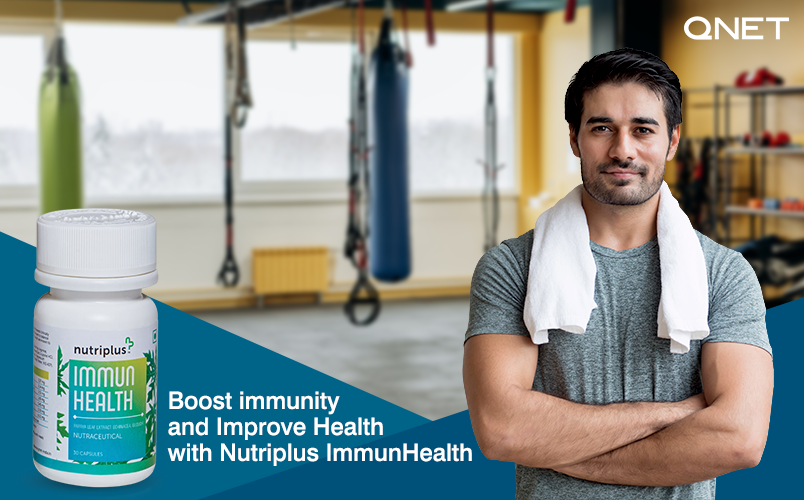 Nutriplus ImmunHealth by QNET Helps to Boost Immunity and Improve Health