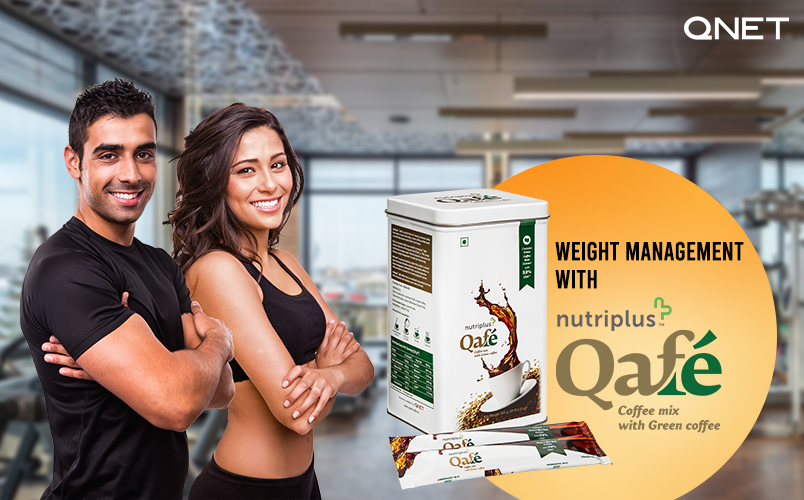 How to use Green Coffee for Weight Loss with the Help of Nutriplus Qafé by QNET?